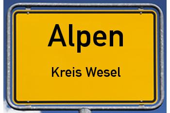 Nachbarschaftsrecht in Alpen