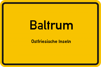 Nachbarrecht in Baltrum