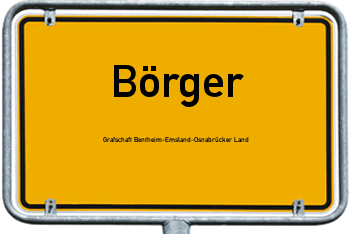 Nachbarrecht in Börger