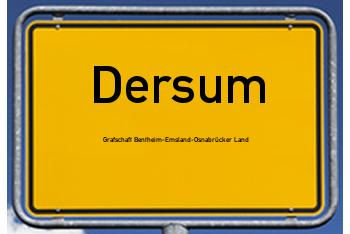 Nachbarrecht in Dersum