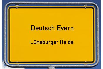 Nachbarschaftsrecht in Deutsch Evern