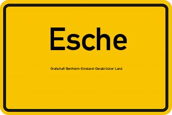 Nachbarschaftsrecht in Esche