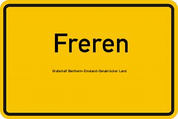 Nachbarrecht in Freren