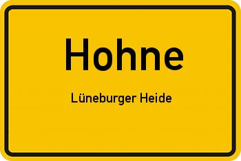 Nachbarschaftsrecht in Hohne