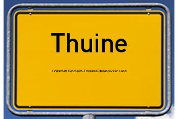 Nachbarschaftsrecht in Thuine