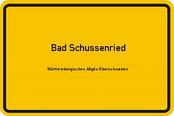 Nachbarschaftsrecht in Bad Schussenried