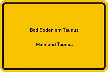 Nachbarrecht in Bad Soden am Taunus