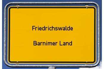 Nachbarrecht in Friedrichswalde