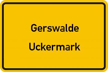 Nachbarrecht in Gerswalde