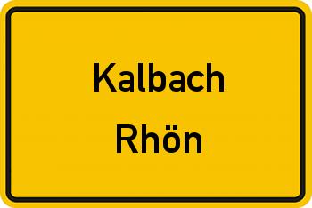 Nachbarschaftsrecht in Kalbach