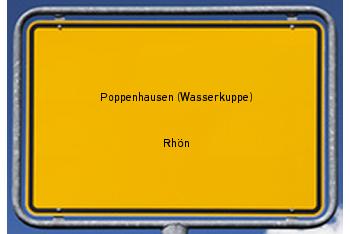 Nachbarschaftsrecht in Poppenhausen (Wasserkuppe)