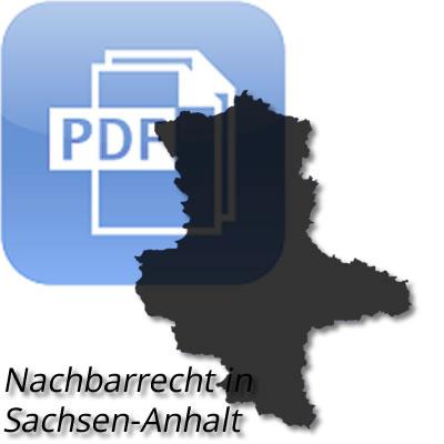 Nachbarrecht in Sachsen-Anhalt